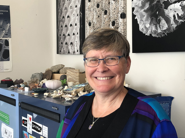 Marine scientist honoured for her contribution to diversity